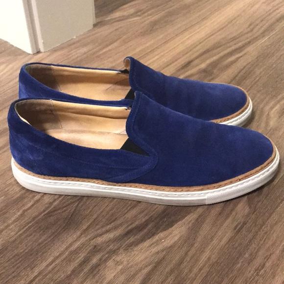 Barneys New York Other - Men s Barney s New York Suede Slip On Sneakers 23d1f86c7